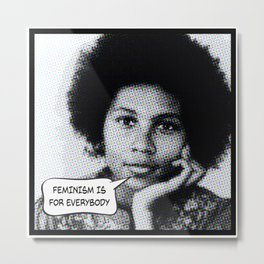 bell hooks: feminism is for everybody Metal Print