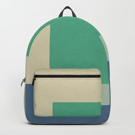 Green Square Backpack
