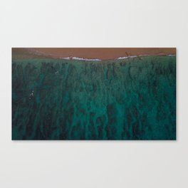 Snorfing Canvas Print