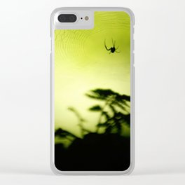 weave me a web Clear iPhone Case