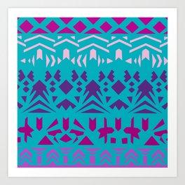 Paper cut collection-02 Art Print