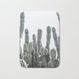 Minimalist Cactus Bath Mat