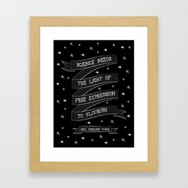 Light [White] Framed Art Print