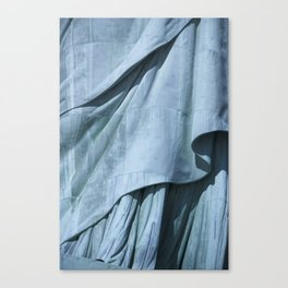 Lady Liberty's Robe #1 Canvas Print