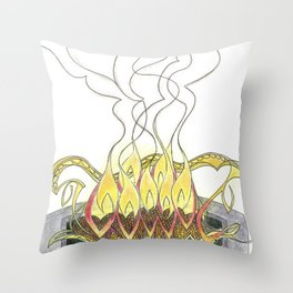 The Altar Throw Pillow