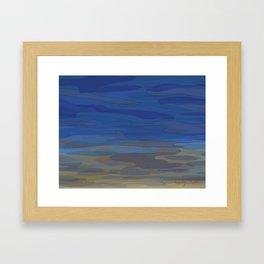 Sandwich Pond Framed Art Print