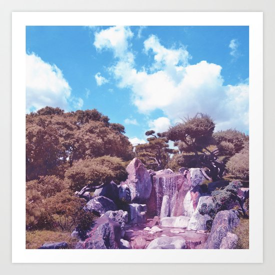 Pastel vibes 58 Art Print