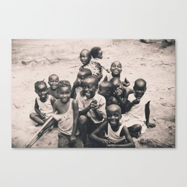 African children. Canvas Print