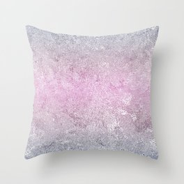 Textured Rainbow Opalescent Foil Throw Pillow