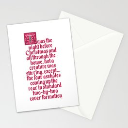 The Night Before Christmas Stationery Cards