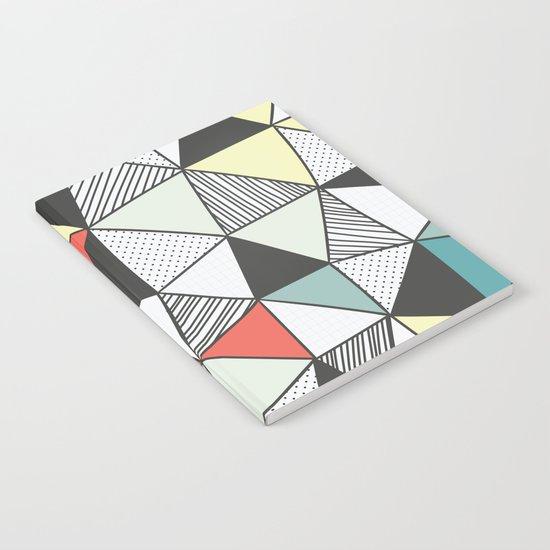 Triangular pattern Notebook