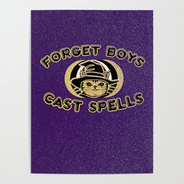 Forget Boys,Cast Spells Poster