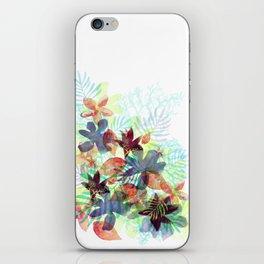 Acqua Floral iPhone Skin