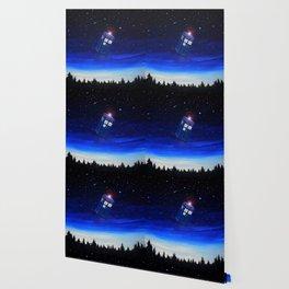 Tardis Starry Night Wallpaper