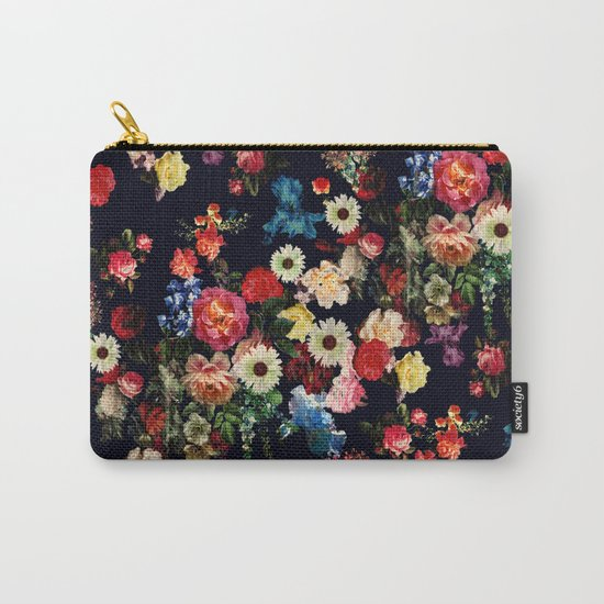 Botanic Pattern Carry-All Pouch