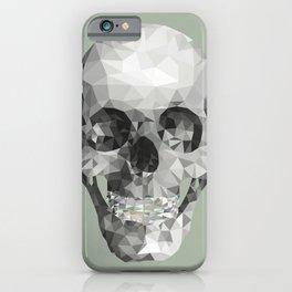 Diamond Teeth Skull  iPhone Case