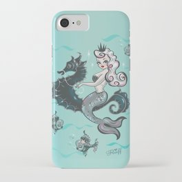 Pearla on Seahorse iPhone Case