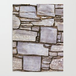 Rock Wall Poster