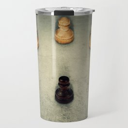 one pawn surrounded Travel Mug