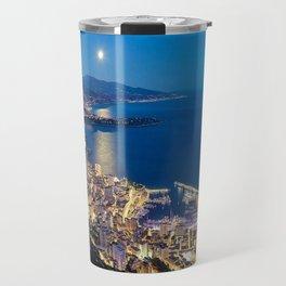 Monaco by Night Travel Mug