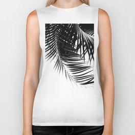 Palm Leaves Black & White Vibes #1 #tropical #decor #art #society6 Biker Tank