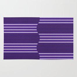Ultra violet wave Rug