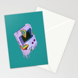 Gameboy Melt Stationery Cards