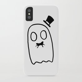Hat Ghost iPhone Case