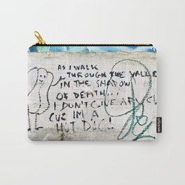 Psalm of the Hot Dog Carry-All Pouch
