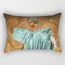 African Dove Rectangular Pillow