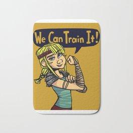 We Can Train It! Bath Mat