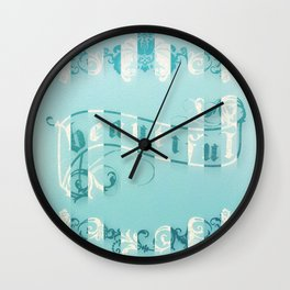 baroque beautiful Wall Clock