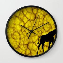 Giraffiti Wall Clock