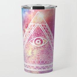 Galaxy Evil Eye Travel Mug