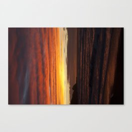 When the sky turns Canvas Print