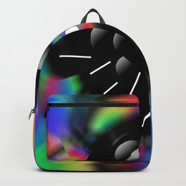 Circle and Rainbow Backpack