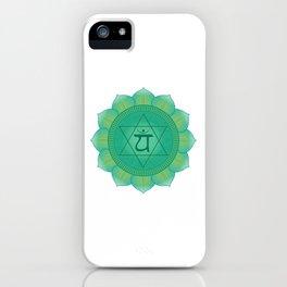 Heart - Anahata  Chakra Symbol iPhone Case