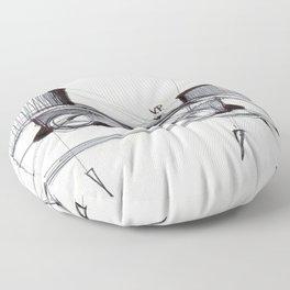 Perspective Floor Pillow