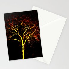 Flame tree Stationery Cards