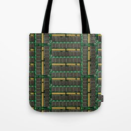 Computer memory modules background Tote Bag