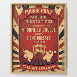 CIRQUE PRICE ROUGE Serving Tray