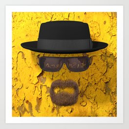 Breaking Bad Heisenberg 02 Art Print