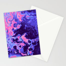 Omnisexual Pride Liquid Ink Swirls Stationery Cards