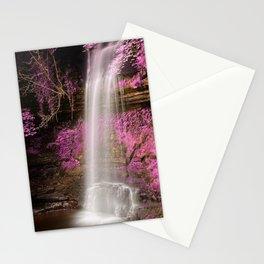 Pink Glencar Falls Stationery Cards