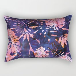 Motuu Tropical Pink & Purple Rectangular Pillow