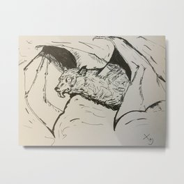 Crazy fruitbat Metal Print
