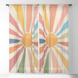 Cat Landscape 47 Sheer Curtain