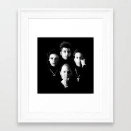 Death Row Framed Art Print