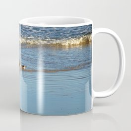 Common Loon Along Shore Coffee Mug