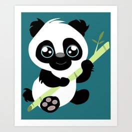 Adoreables: Panda  Art Print
